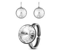 Set Rivoli mit Ohrhängern & Ring