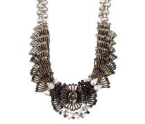 Halskette Evergrün Collection mit Swarovski-Steinen