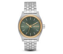 Quarzuhr Medium Time Teller A1130-2877-00 Silver / Gold / Agave