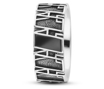 Ring aus 925 Sterling Silber mit Onyx-58