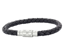 Armband aus Edelstahl & Leder