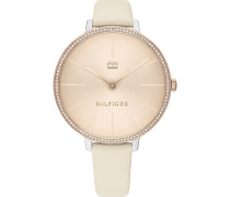 Tommy Hilfiger Damen-Uhren Analog Quarz