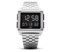 Digitaluhr Archive_M1 Z01-2924-00 Silver / Black / Blue / Red