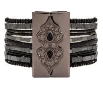 Armband Santafe Black aus Metall & Harz-170 mm