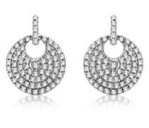 Ohrhänger aus 375 Weißgold mit 0.37 Karat Diamanten