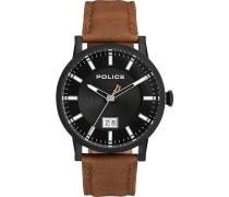 Police Herren-Uhren Analog