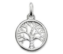 Kettenanhänger Lebensbaum Glam & Soul aus 925 Sterling Silber mit Zirkonia