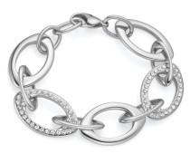 Armband aus Edelstahl mit Kristallen
