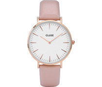 Cluse Damen-Uhren Analog Quarz