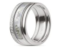 Ring aus 925 Sterling Silber mit Zirkonia-60