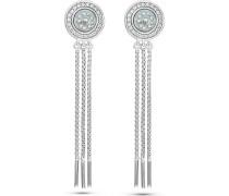 JETTE Silver Damen-Ohrhänger Pearly 925er Silber 44 Zirkonia