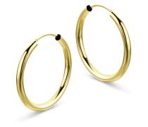 Creolen aus 333 Gold | Durchmesser 20 mm | Stärke 2 mm
