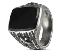 Ring aus 925 Sterling Silber mit Onyx-63