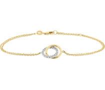 Armband aus 375 Gelbgold