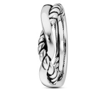 Ring Nautic Traveller aus 925 Sterling Silber-58