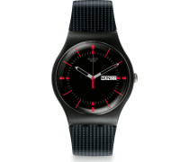 Swatch Herren-Uhren Analog Quarz