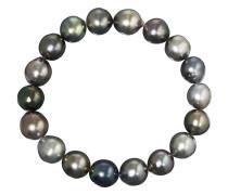 Armband mit Tahiti-Zuchtperlen   Perlen 10 mm - 12 mm