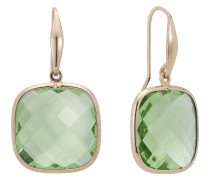 Zoccai Damen-Ohrhänger 925er Silber Silber 2 Amethyste