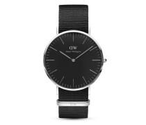 Quarzuhr Classic Black Cornwall DW00100149