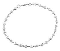 Armband aus 375 Weißgold mit 0.78 Karat Diamanten