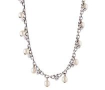 Halskette Pearl Shadow mit Kunstperlen