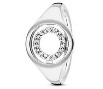 Ring Solar Orbit aus 925 Sterling Silber mit Topasen-50