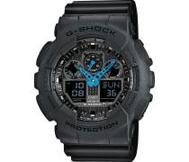 Casio Herren-Uhren Rund Digital Quarz