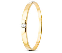 Ring aus 585 Gold mit Diamant-52