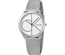 Calvin Klein Damen-Uhren Analog Quarz