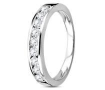 Ring aus 585 Weißgold mit 0.50 Karat Diamanten-52
