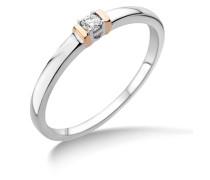Ringe aus 375 Weißgold mit 0.05 Karat Diamant-52