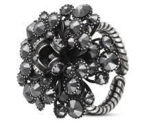 Ring MyRouge aus Metall mit Glassteinen