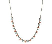 Halskette Arsenic In Old Lace aus Metall mit Glassteinen