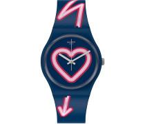 Swatch Damen-Uhren Analog Quarz