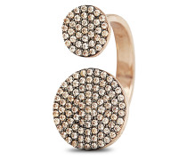 Ring Colour Confetti aus rosévergoldetem 925 Sterling Silber mit Zirkonia