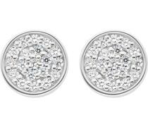 JETTE Silver Damen-Ohrstecker 925er Silber 38 Zirkonia