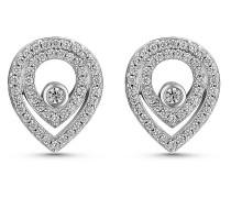 JETTE Silver Damen-Ohrstecker 925er Silber 96 Zirkonia