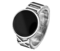 Ring aus Sterling Silber mit Onyx