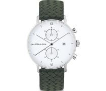 Kapten & Son Unisex-Uhren Analog Quarz