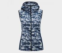 Daunenweste Bessy für Damen - Navy-Blau