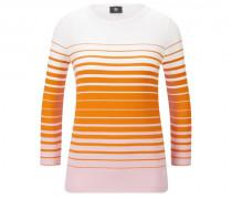 Longsleeve Molly für Damen - Orange/Hellrosa/Weiß Longsleeve