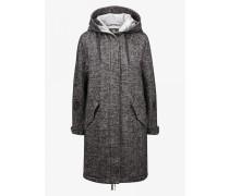 Mantel Savana für Damen - Anthracite melange