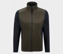 Hybrid-Jacke Cris für Herren - Khaki/Navy-Blau Jacke