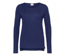 Schurwoll-Pullover ADORA für Damen - Ink Pullover
