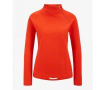 Pullover Smina für Damen - Red-Orange Pullover