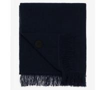 Woll-Schal für Man - Navy-Blau