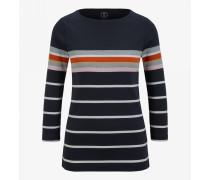Baumwoll-Pullover Jaime für Damen - Navy blue Pullover