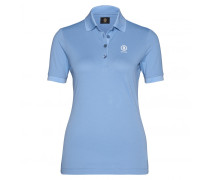 Golf-Polo-Shirt NELL für Damen - Smoke Blue