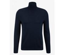 Rollkragen-Pullover Erik für Man - Navy-Blau Pullover