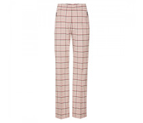 Woll-Mix-Hose Ariana - Rosa/Off-White